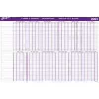 Jahresplaner Bo Office BP105, Jahresübersicht, 20 Personen