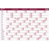 Jahresplaner Bo Office BP101, Jahresübersicht