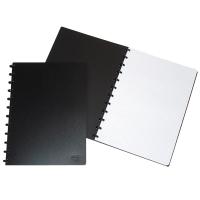 Notizheft Adoc 6099.740 A4, 4 mm kariert, mit Kunststoffumschlag, 72 Blatt, swz