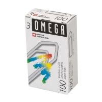 Büroklammern Omega 3/100, 28 mm, assortiert, Packung à 100 Stück