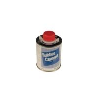 Klebstoff Rubber Cement, Kunststoffflasche mit Pinsel, 118 ml