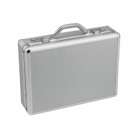 Akten-Koffer Monolith Alu, silber