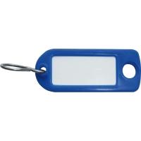 Schlüssel-Schilder Typ 8034FS, blau, Packung à 100 Stück