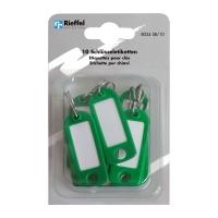 Schlüssel-Schilder Typ 8034, grün, Packung à 10 Stück