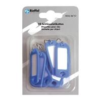 Schlüssel-Schilder Typ 8034, blau, Packung à 10 Stück