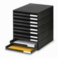 Schubladensystem Styroval Oeko, 16-8002, 10 Schubladen, schwarz