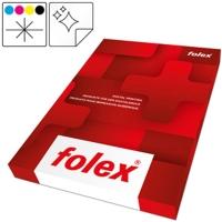 OHP-Folien Folex CLP, A4, Farblaser/ -Kopierer, weiss, selbstkl., Pk. à 50 Stk.