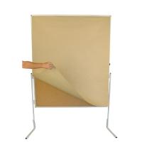 Moderationswandpapier Berec Design, 140x110 cm braun, Packung à 100 Bögen