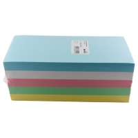 Moderationskarten 9,5x20,5 cm, rechteckig, Farben ass., Pk. à 500 Stk.