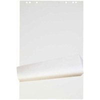 Flipchart-Block 67x95 cm 20 Blatt blanko/blanko, weiss