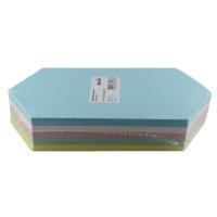 Moderationskarten, Rhomben 9,5x20 cm, Farben ass., Pk. à 250 Stk.