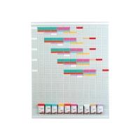 Steckkartenplaner BoOffice, B78xH95,5 cm, komplett