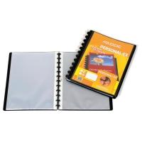 Sichtbuch Personal-Ex Adoc System 5242 A4, 40 Taschen, schwarz