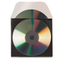 CD-Tasche 3L, 127x127 mm, mit Schutzeinlage, selbsklebend, Beutel à 10 Stück