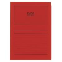 Organisationsmappe Elco Ordo Classico 73695, intensivrot, Packung à 10 Stück