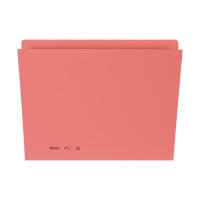 Einlagemappe 255424 für A4 31,7x22/23,5 cm, 240 g/m2, rosa, Pk. à 100 Stk