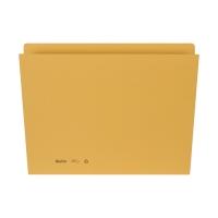 Einlagemappe 255424 für A4 31,7x22/23,5 cm, 240 g/m2, gelb, Pk. à 100 Stk