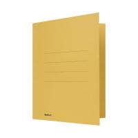 Juramappe Biella 170400 für, Karton 320 g/m2, gelb