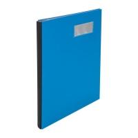 Unterschriftenmappe Biella 341410 Pronto A4, mit Dehnrücken, 10teilig, blau