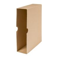 Archivordner Biella 140407 A4, 7 cm, Karton, braun