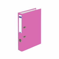 Ordner Lyreco Swiss Standard A4, 4 cm, rosa