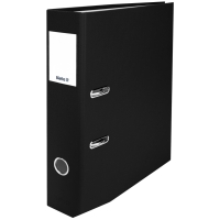 Ordner Biella Plasticolor 107407 A4, 7 cm, schwarz
