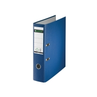 BINDER LEITZ SWISS EDITION A4 8 CM, BLUE