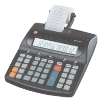 Tischrechner Jet-Line 4212 PDL Euro, 12-stellig, inkl. Netzgerät