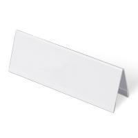 Tischnamensschild A5 quer, 210x74 mm, Hartplastik (4212)