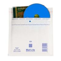Luftpolster-Versandtaschen Sealed Air Mail Lite CD ROM,180x160mm,weiss,Pk à 10St