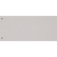 Trennstreifen Exacompta 13405B 240x105 mm, Karton 190 g/m2, weiss, Pk. à 100Stk.