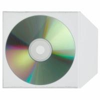 CD/DVD Hülle Kolma, SuperStrong, für 1 CD/DVD, Packung à 25 Stück