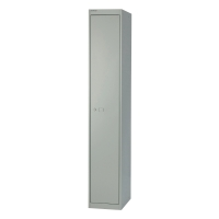 Garderobenschrank Bisley CLK181H3-845, 30,5x45,7x180,2 cm (BxTxH), grau