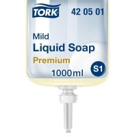 Flüssigseife mild Tork S1, Flasche à 1 l