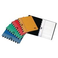 Notizheft Adoc 3055.10 A5, 5 mm kariert, 72 Blatt, assortiert