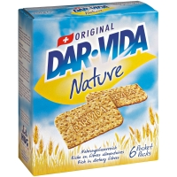 Dar-Vida Nature 250 g, Packung à 6 Pocket-Packs