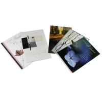 Doppelkarte ABC 90992, Trauer, 117x173 mm, deutsch,  5 Motive, Pk. à 10 Stk.