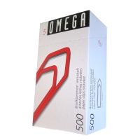Büroklammern Omega 5/500, 43 mm, Packung à 500 Stück