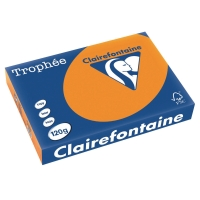 Kopierpapier Trophee 1763 A4, 120 g/m2, orange, Packungà 250 Blatt