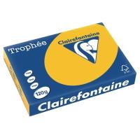 Kopierpapier Trophee 1257 A4, 120 g/m2, sonnengelb, Packung à 250 Blatt