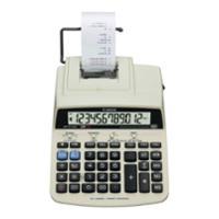 Tischrechner Canon MP121-MG, druckend, 12-stellige Anzeige, beige