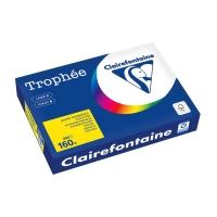 Kopierpapier Trophee 1053 A4, 160 g/m2, sonnengelb, Packung à 250 Blatt