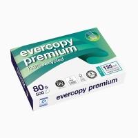 Kopierpapier Evercopy Premium A4, 80 g/m2, FSC, Packung à 500 Blatt