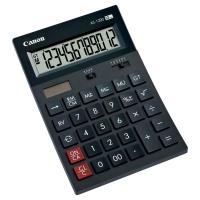 Tischrechner Canon AS-1200, 12-stellige Anzeige, schwarz