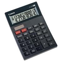 Tischrechner Canon AS-120, 12-stellige Anzeige, schwarz