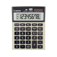 Tischrechner Canon LS-80TEG, 8-stellige Anzeige, silber