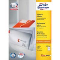 Etiketten Avery Zweckform 3652-200, 70x42,3 mm, weiss, Packung à 4200 Stück