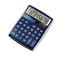 Tischrechner Citizen CDC-80, 8-stellige Anzeige, blau