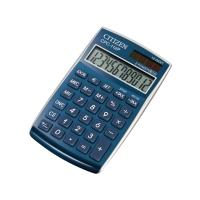 Taschenrechner Citizen CPC-112 Basic+, 12-stellige Anzeige, blau