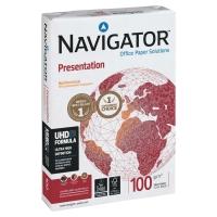 Kopierpapier Navigator Presentation A4, 100 g/m2, FSC, Packung à 500 Blatt